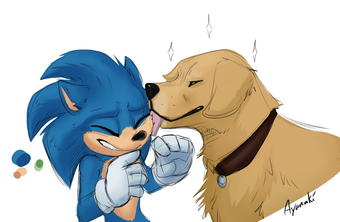 I Wanna See Sonic Play With Boofer Sonic The Hedgehog 2020 Film Know Your Meme