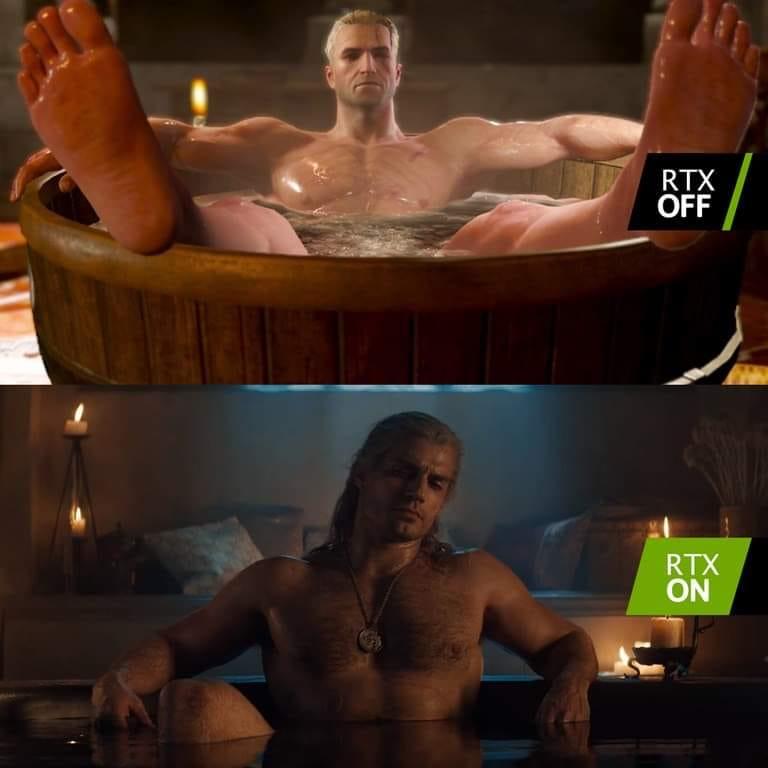 Hasil gambar untuk the witcher bathtub