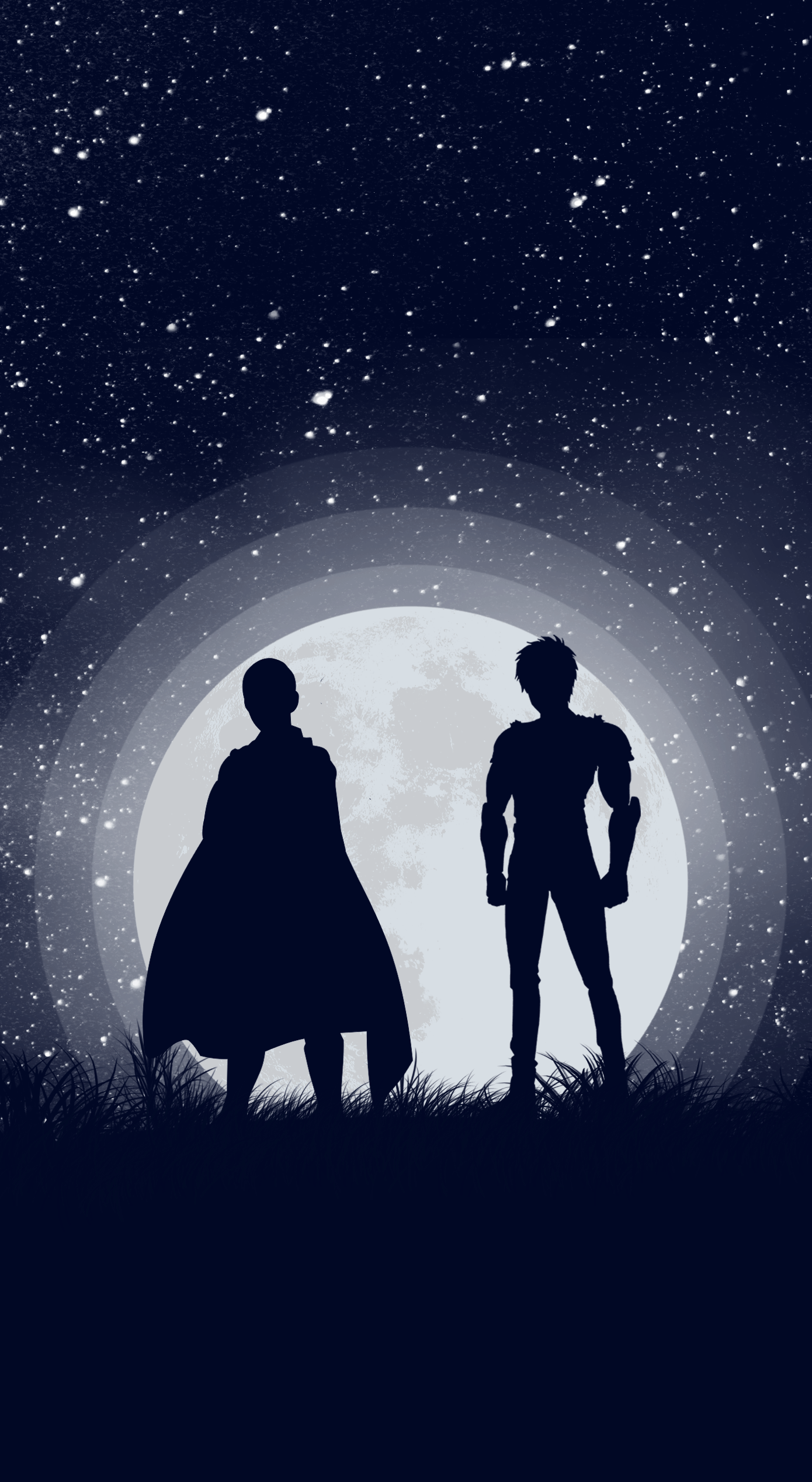 The Hero And The Disciple Wallpaper By Me Ronepunchman