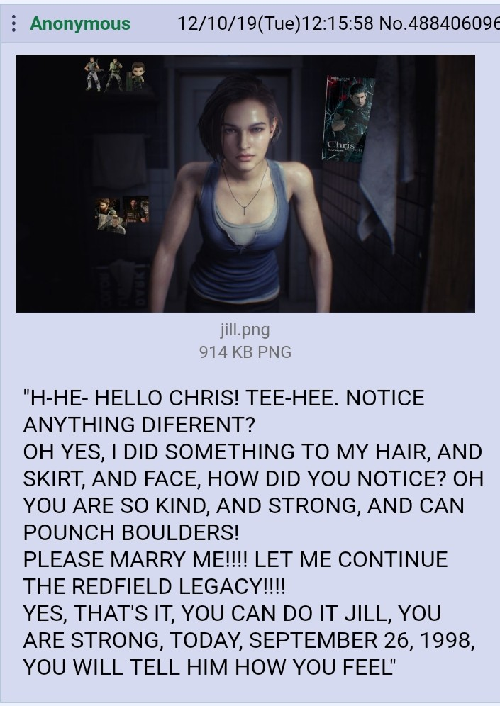 You Ve Got This In The Bag Jill Resident Evil 3 Remake Know Your Meme