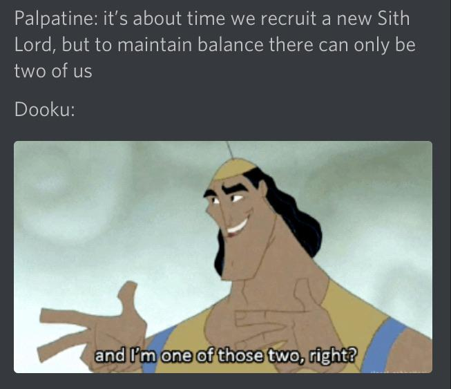 A Post I Made While In Discord R Prequelmemes Prequel Memes Know Your Meme
