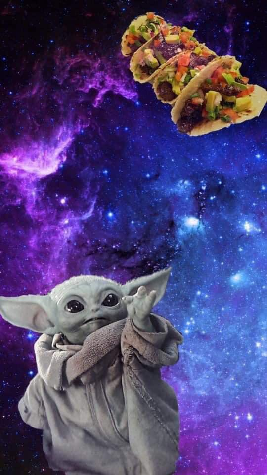 Here S A Phone Background Of My Favorite Things R Babyyoda Baby Yoda Know Your Meme