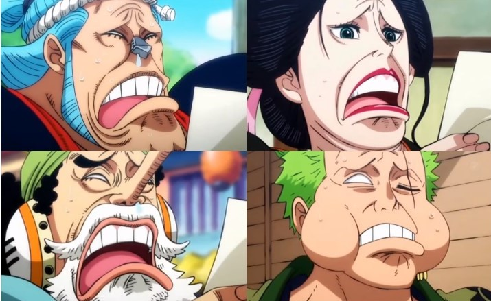 New Shocked Faces | One Piece | Know Your Meme