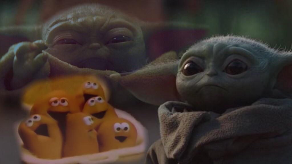 Chicky Nuggies Yoda Meme Origin - 2006paul
