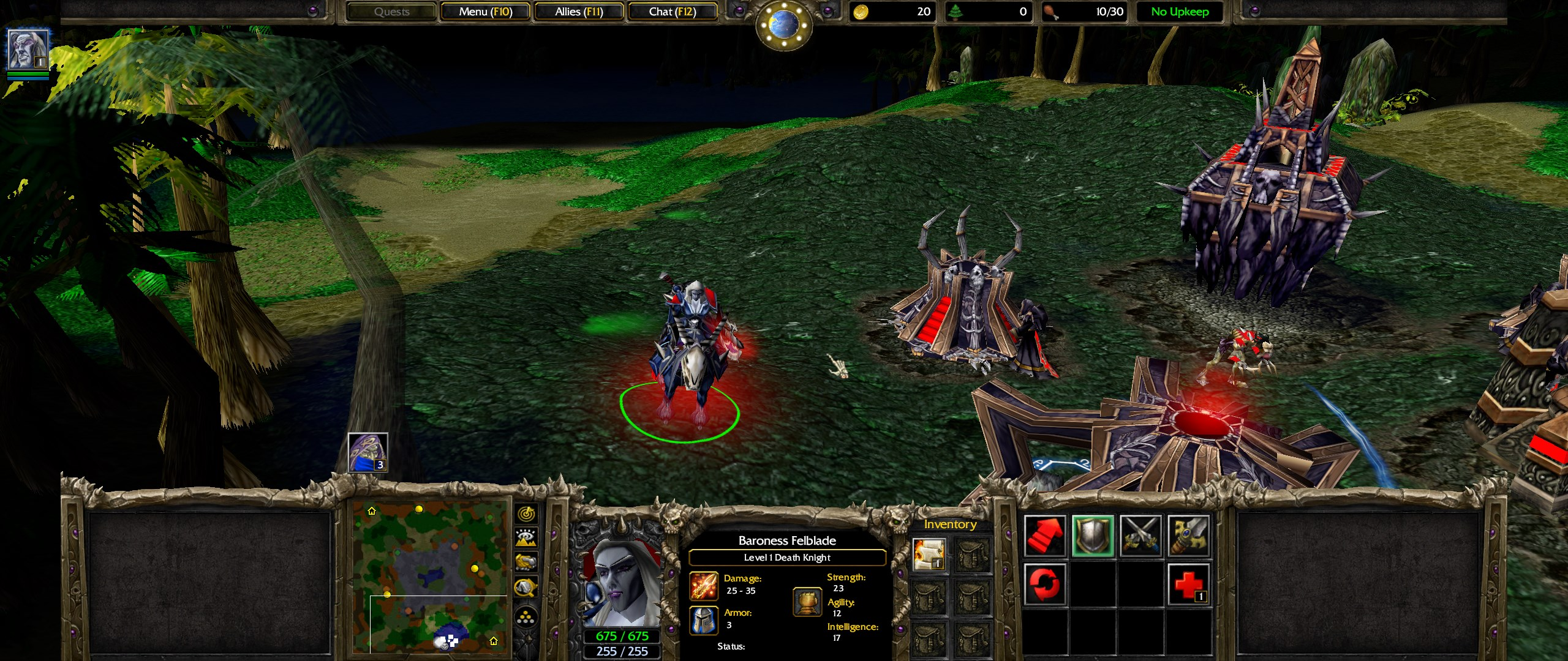Female Death Knight Warcraft Iii Reforged Know Your Meme