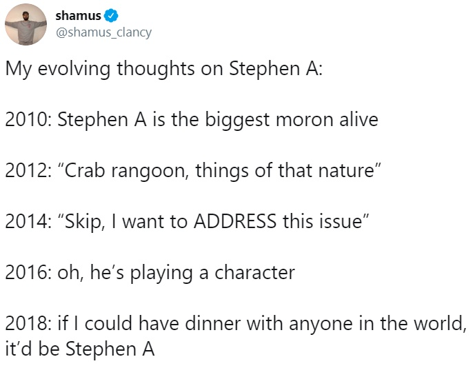 Shamus Clancy S Tweet Crab Rangoon Know Your Meme