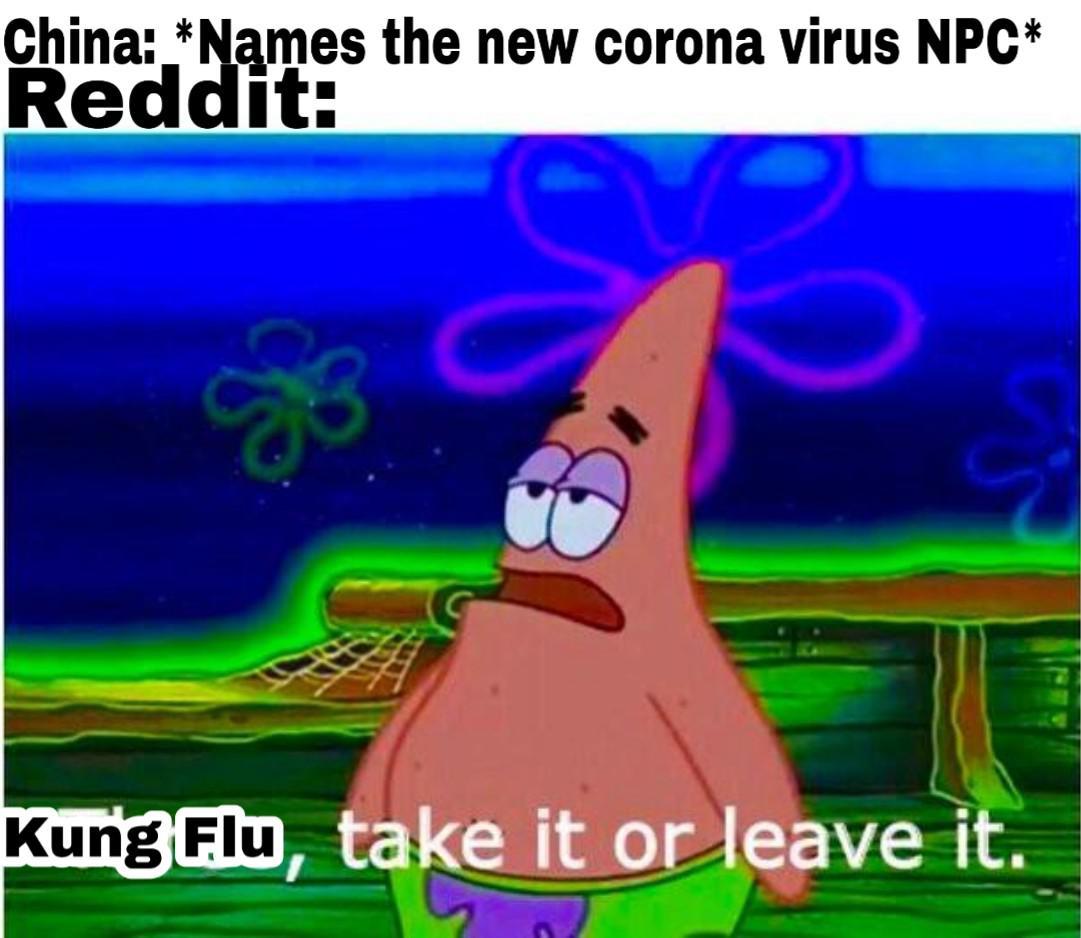 coronavirus kung flu meme