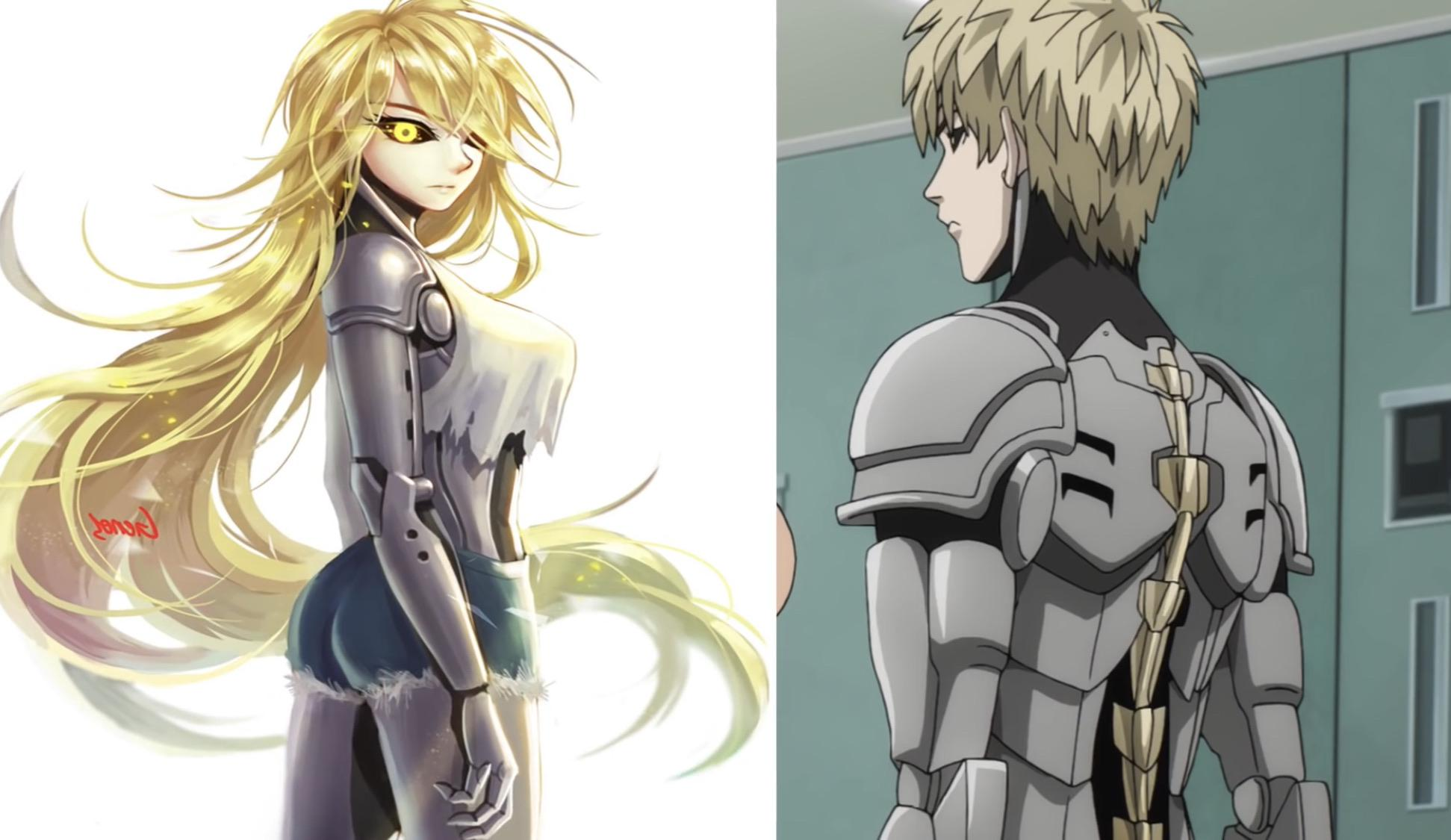 Anyone Know The Artist To This Uhhhh Amazing Rule 63 Genos R Onepunchman One Punch Man Know Your Meme