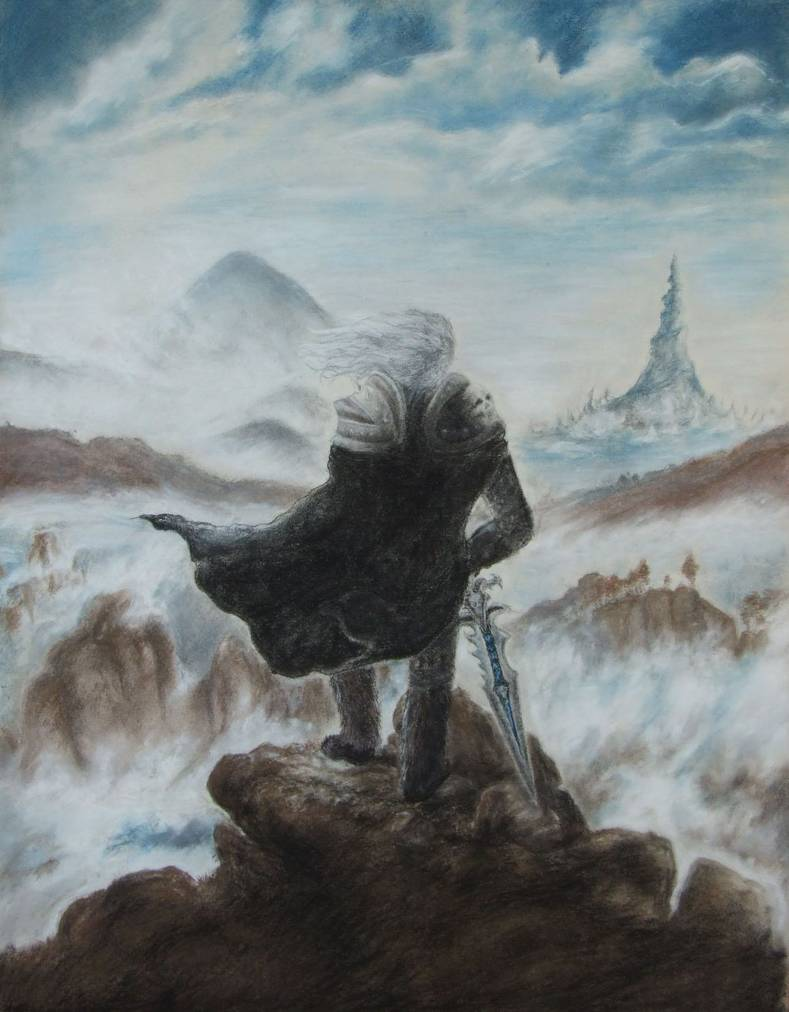 Arthas Wanderer Above The Sea Of Fog Know Your Meme
