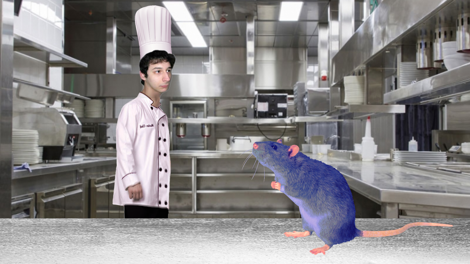 Parody Linguini And Remy From Ratatouille Yandere Simulator Know Your Meme
