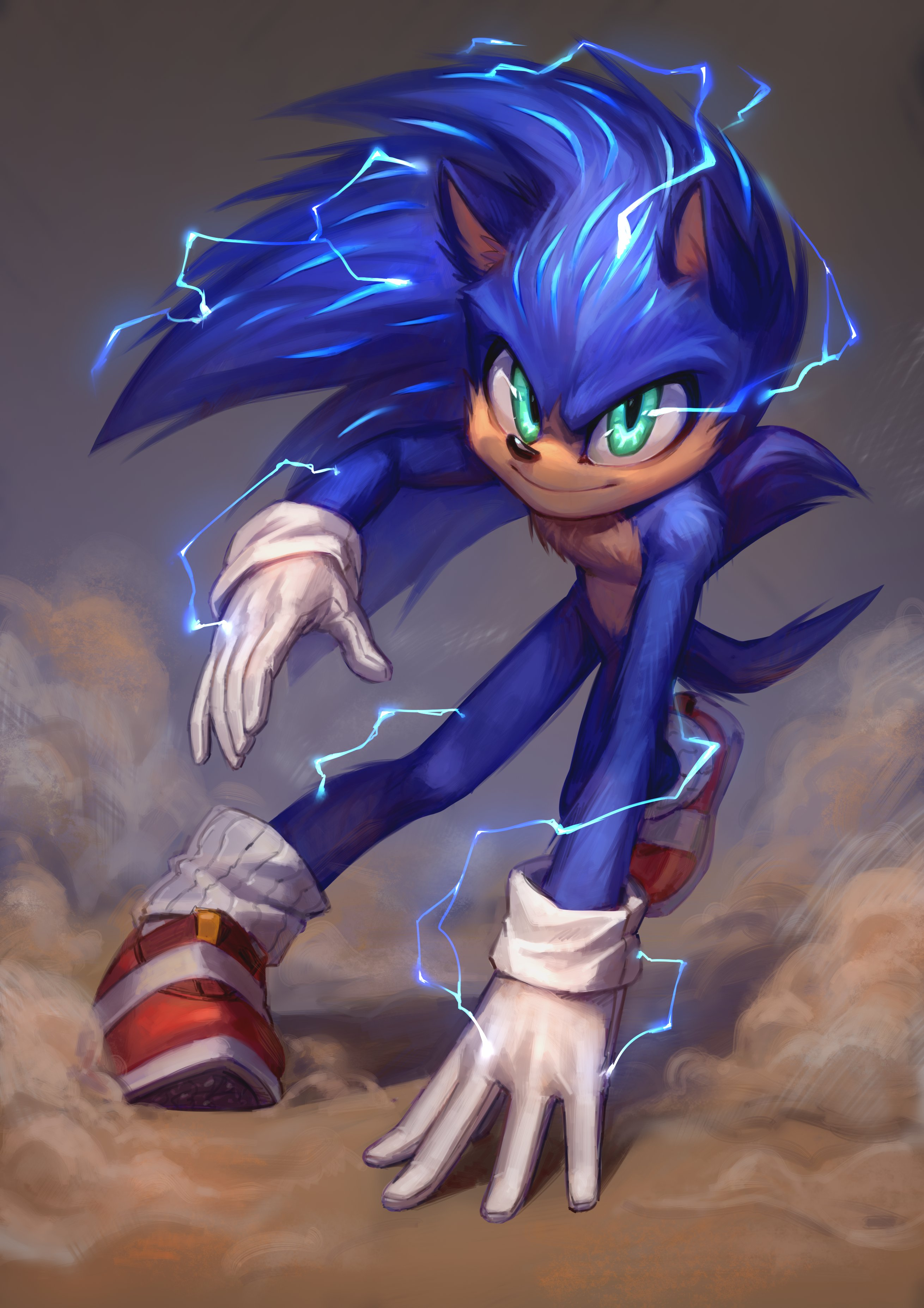 Kinda Reminds Me Of A More Modern Version Of Movie Sonic Sonic The Hedgehog 2020 Film Know Your Meme