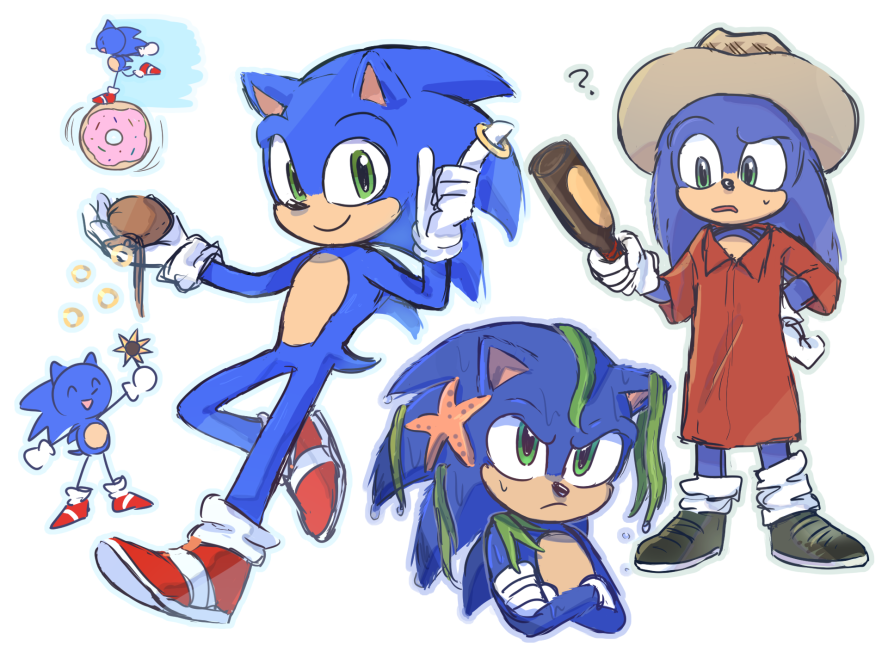 A Cute Sonic Film Fanart Sonic The Hedgehog 2020 Film Know Your Meme