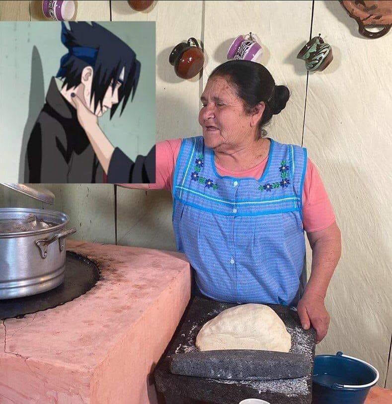 Dona Angela Chokes Sasuke Sasuke Choke Edits Know Your Meme