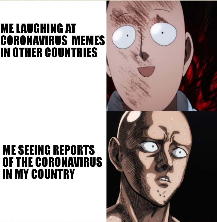 Coronavirus God Level Threat R Onepunchman One Punch Man