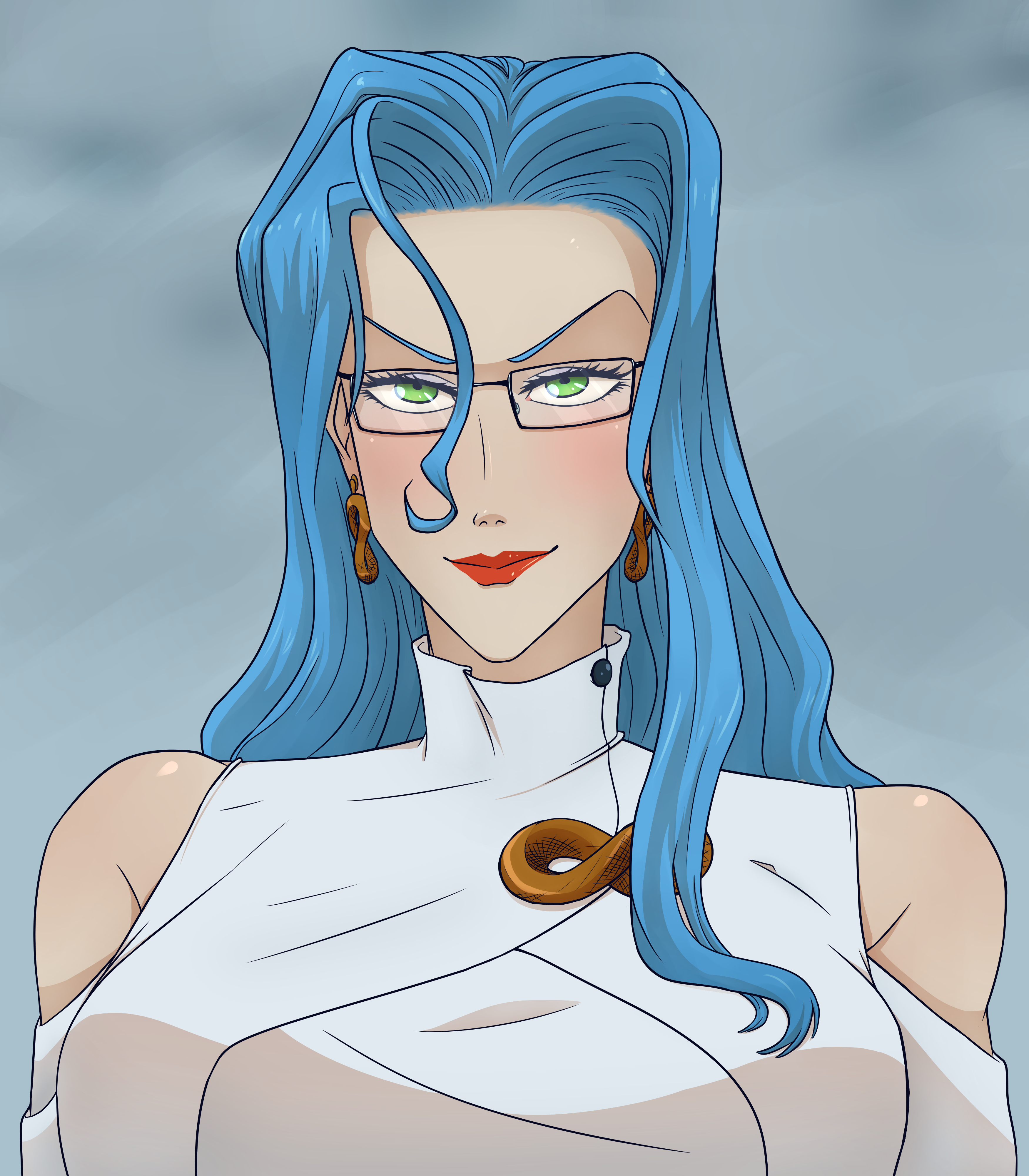I Drew Psykos For My Profile Picture Her Hair Is Hard To Draw R Onepunchman One Punch Man Know Your Meme