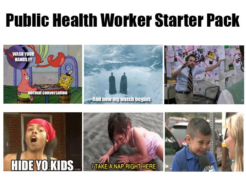 Public Health Worker Starter Pack R Starterpacks Starter