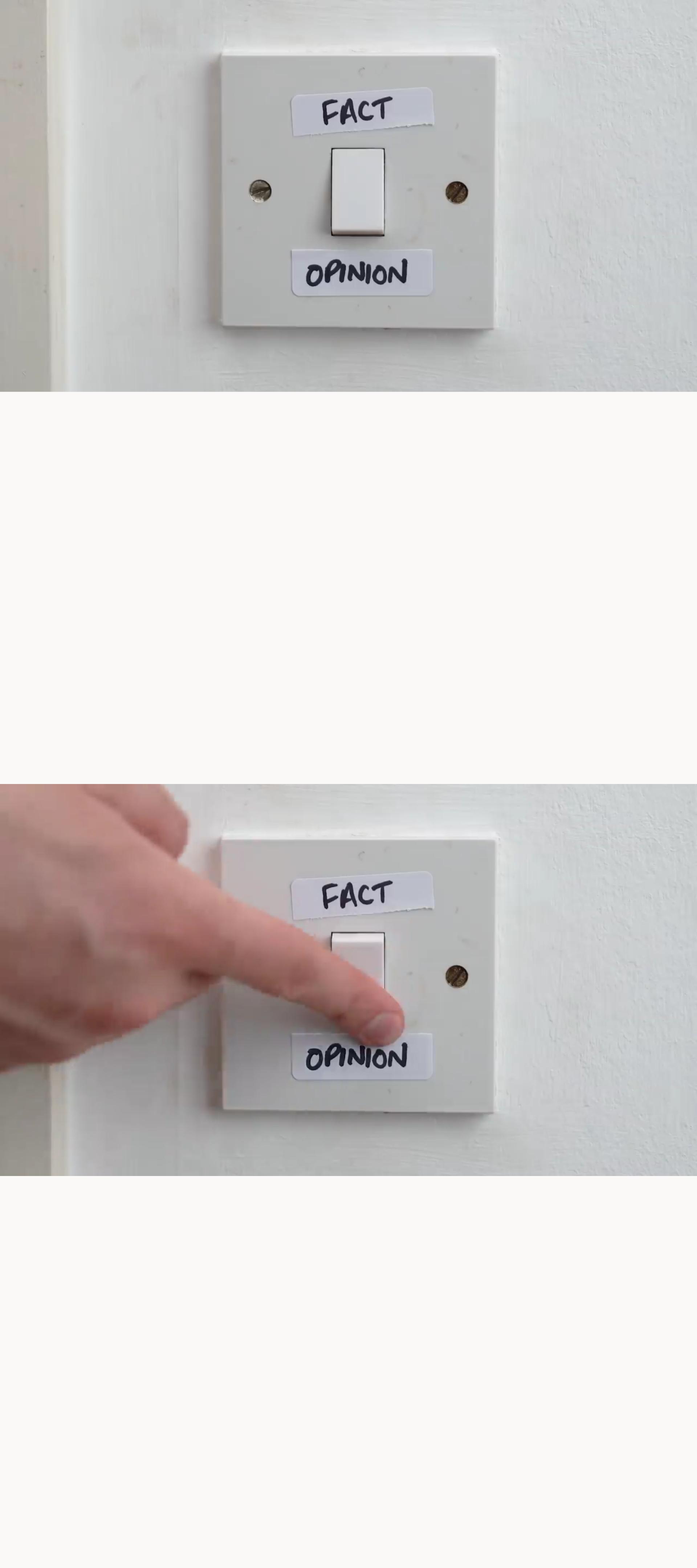 Fact Vs Opinion Template Meme Templates Know Your Meme