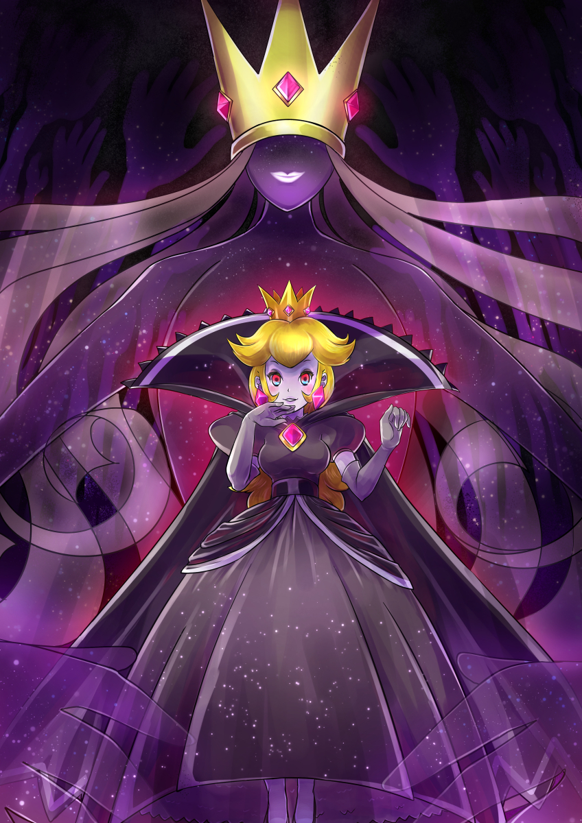 Shadow Queen By Konna Nani Paper Mario Know Your Meme