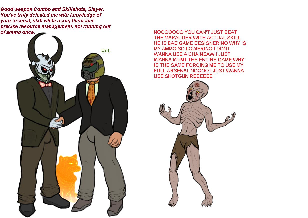 Marauders Doom Eternal Know Your Meme