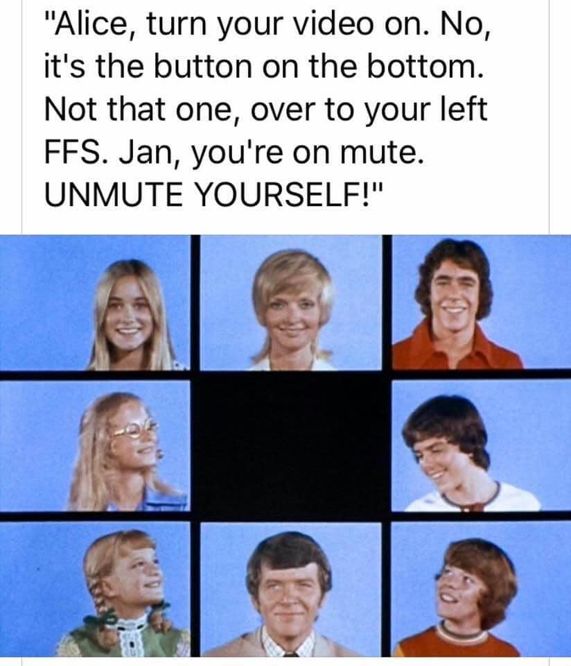 Brady Bunch | Zoom | Know Your Meme