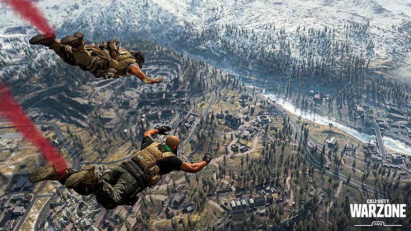 Call Of Duty Warzone Gameplay Screenshot Call Of Duty Warzone