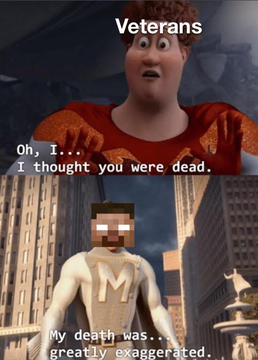 The Return Of The Villain R Minecraftmemes Minecraft Know Your Meme