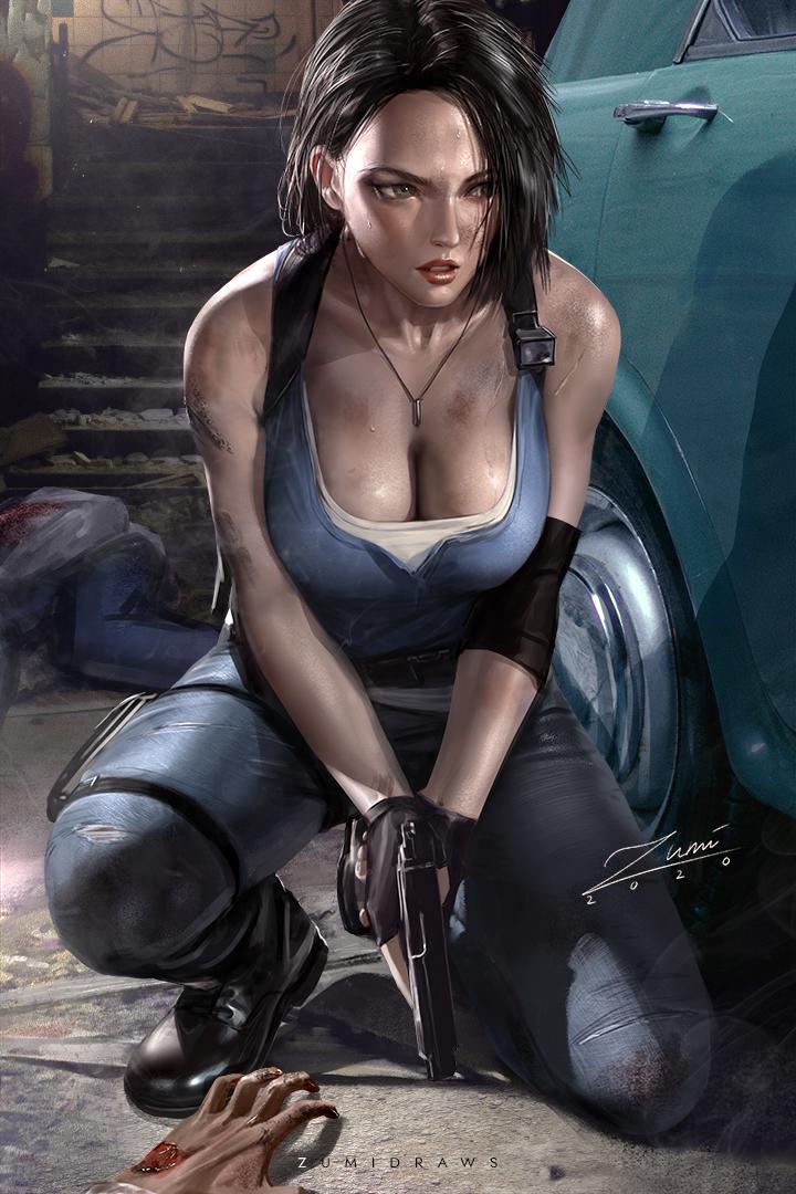 Jill Valentine Resident Evil 3 Remake Know Your Meme
