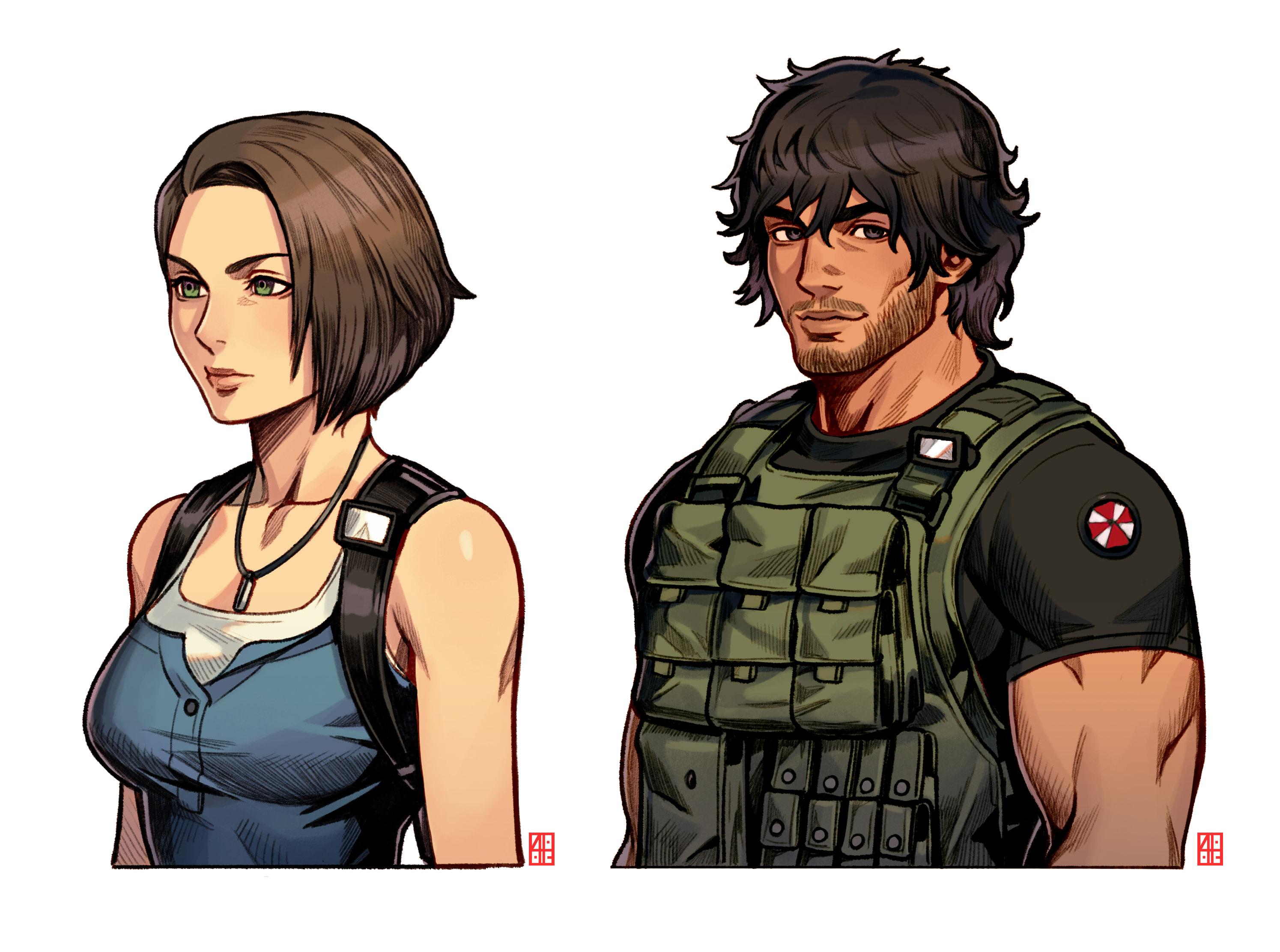 Resident Evil 3 Remake Final Fantasy Design Resident Evil 3