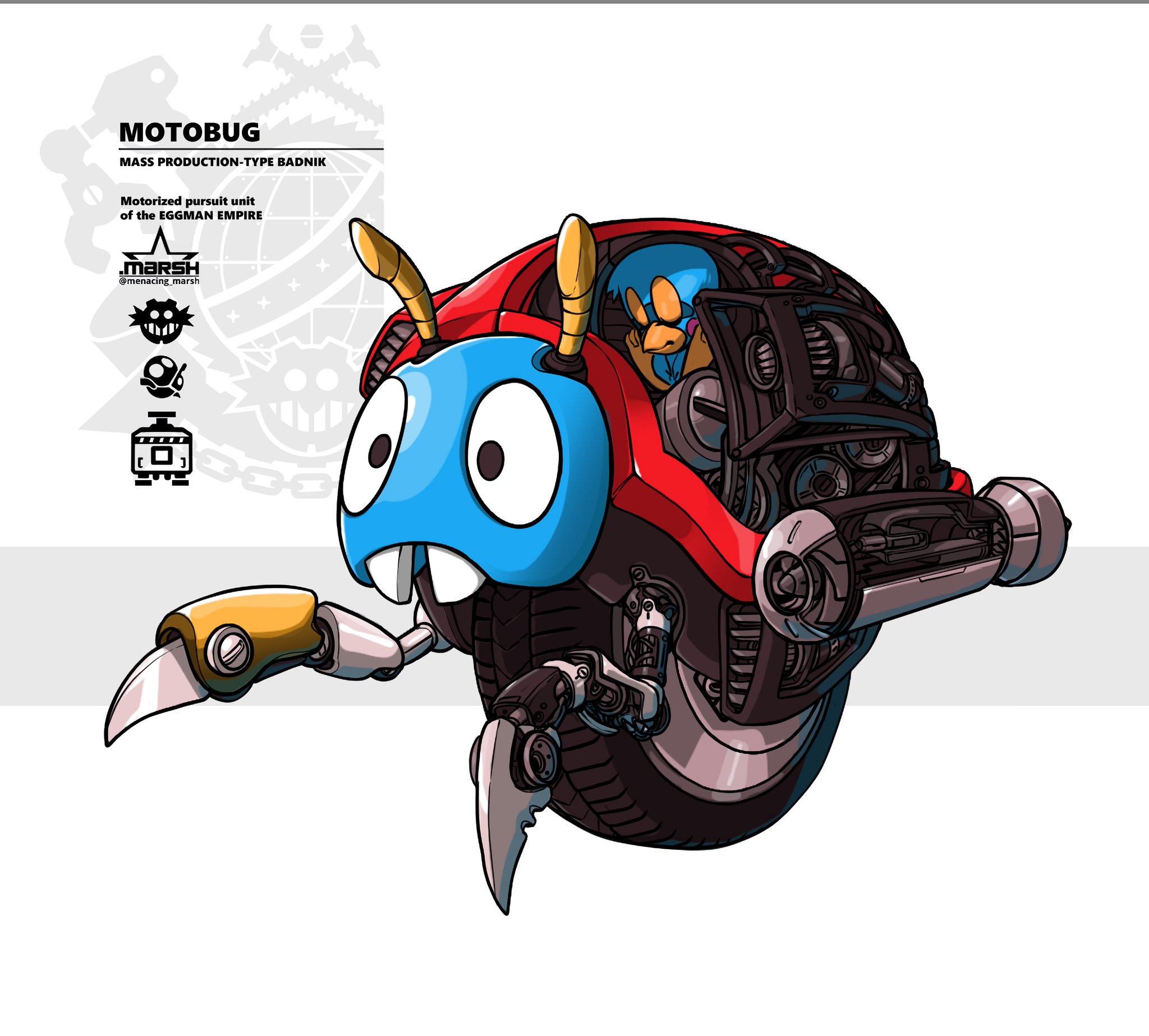 Motobug Interior Sonic The Hedgehog Know Your Meme