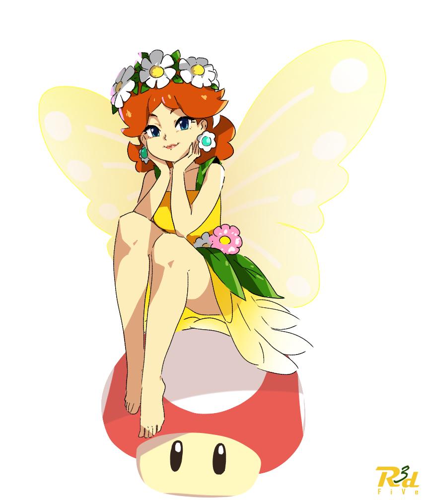 Fairy Daisy Super Mario Know Your Meme