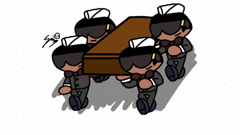 Simedraw Coffin Dance Coffin Dance Dancing Pallbearers Know Your Meme