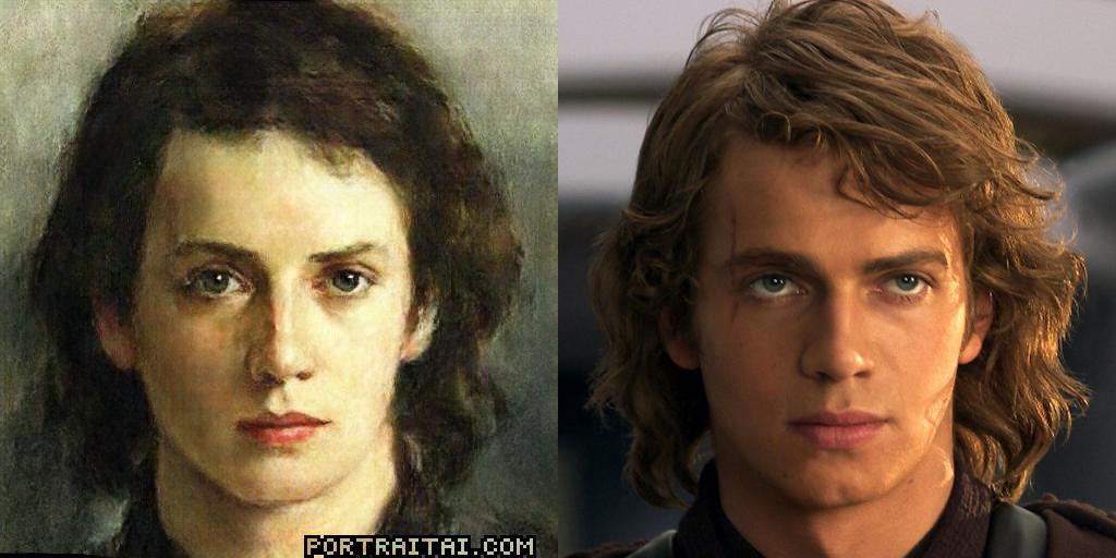 Anakin Portraitai Know Your Meme