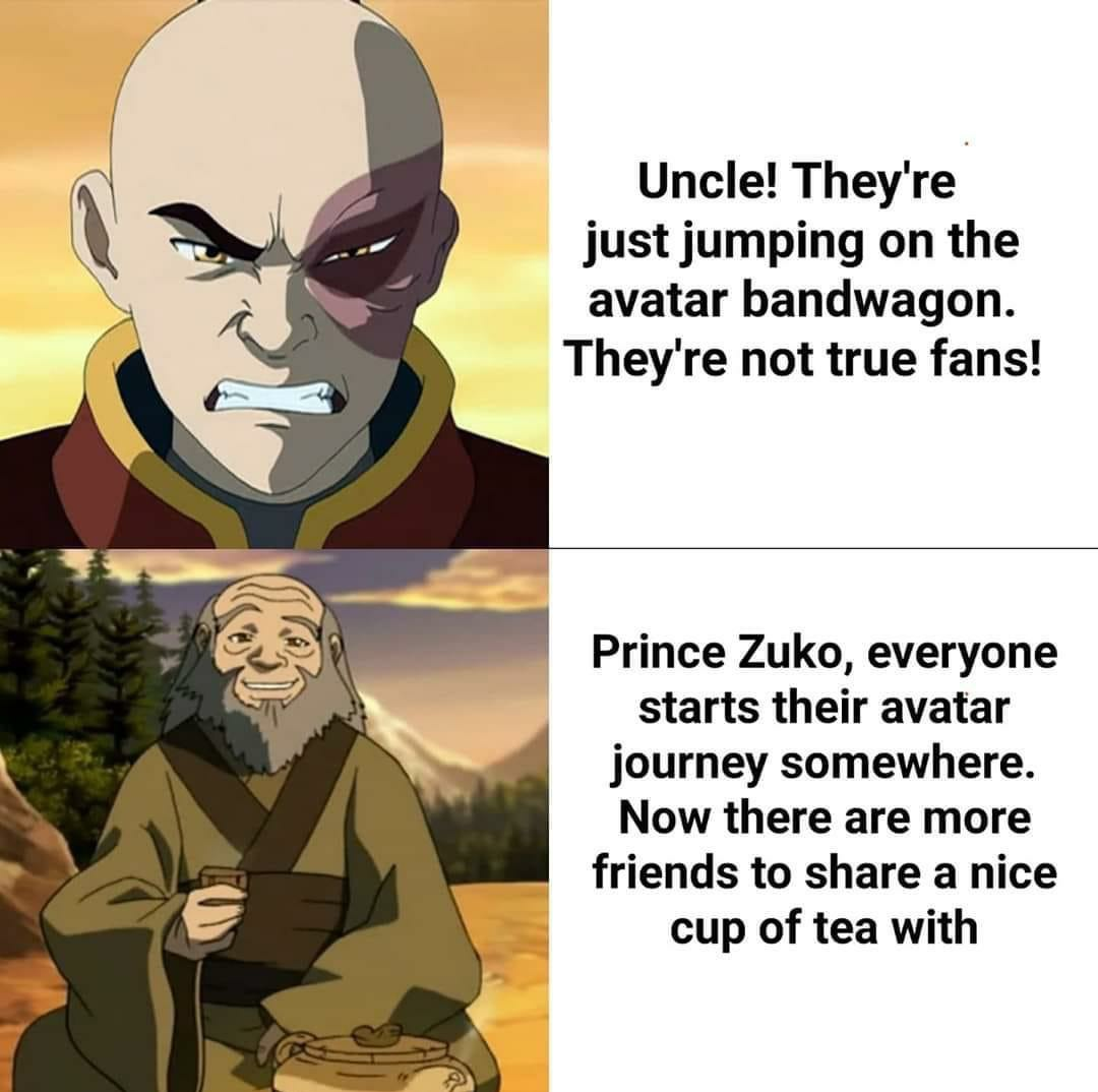 We Need More Uncle Irohs In The World Avatar The Last