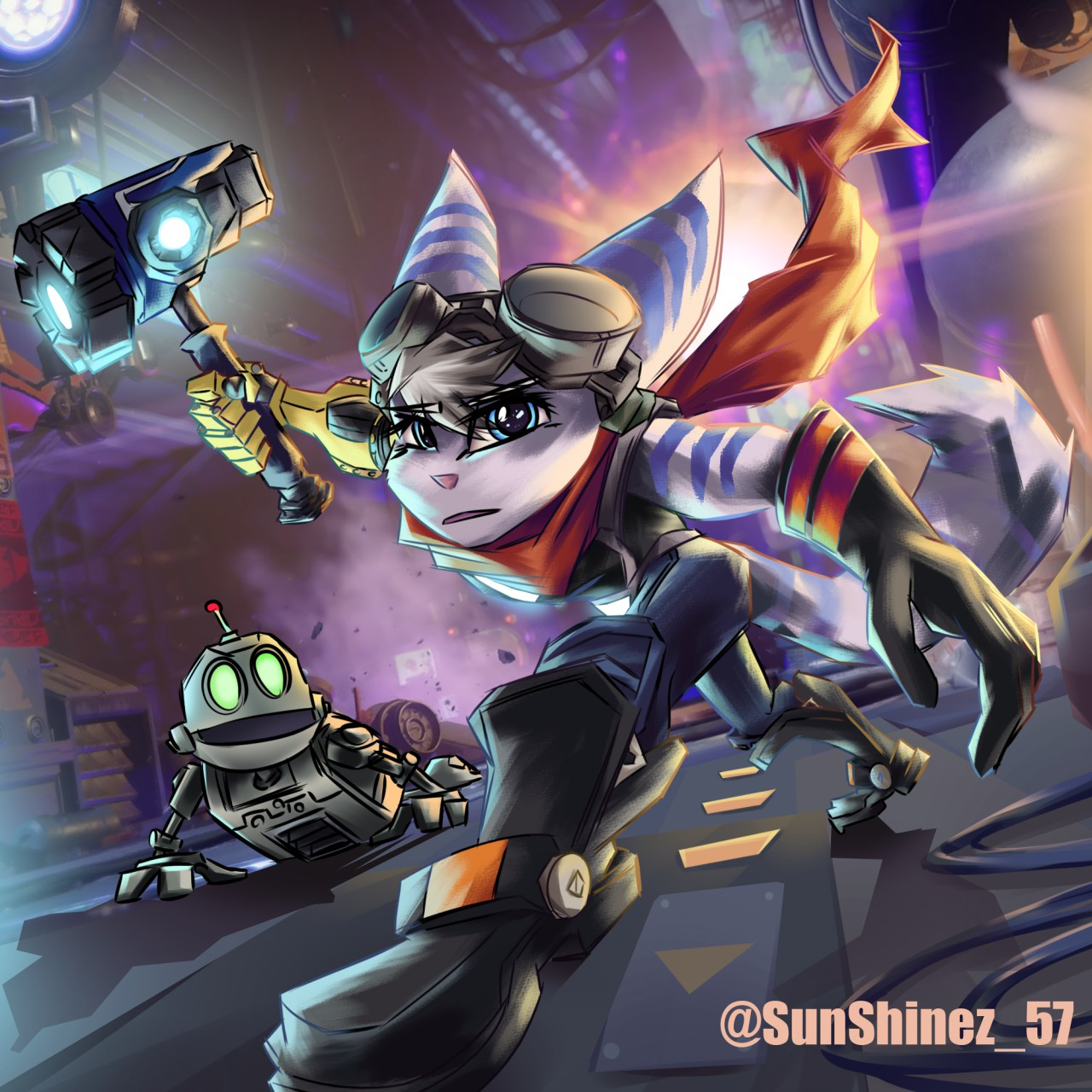 A New Heroine Appears Ratchet Clank Know Your Meme
