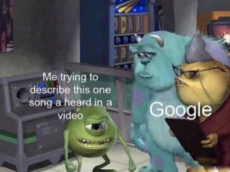 Googling A Song Monsters Inc Know Your Meme