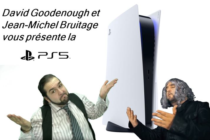 David Goodenough and Jean Michel Bruitage presents the PS5 ...