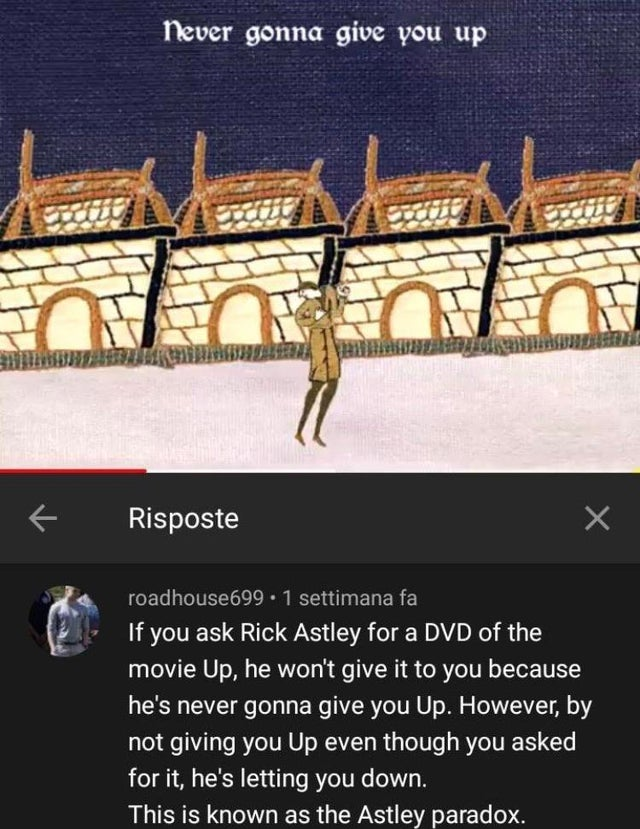 Astley Paradox Rickroll Know Your Meme