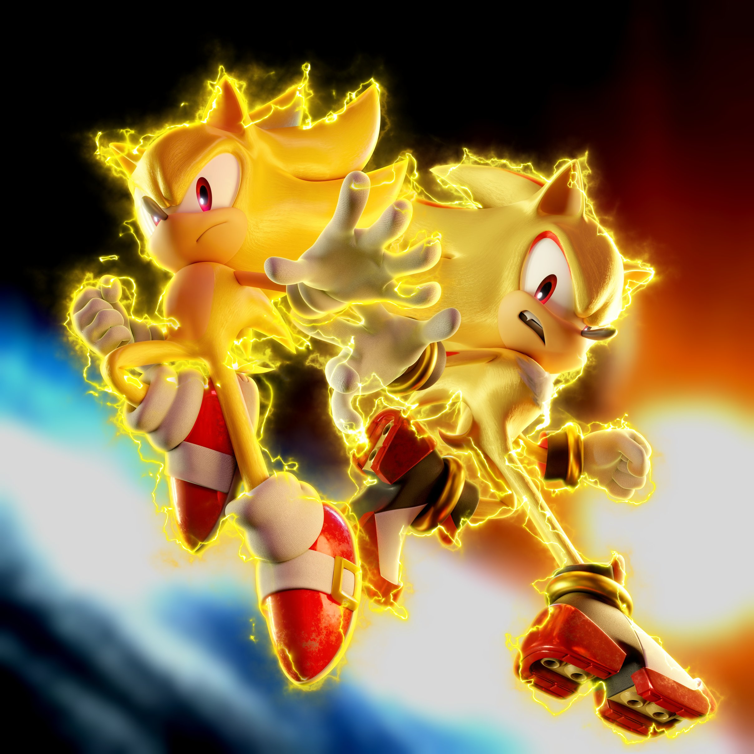 They Even Remembered Shadow S Lighter Shade Of Yellow Sonic The Hedgehog Know Your Meme