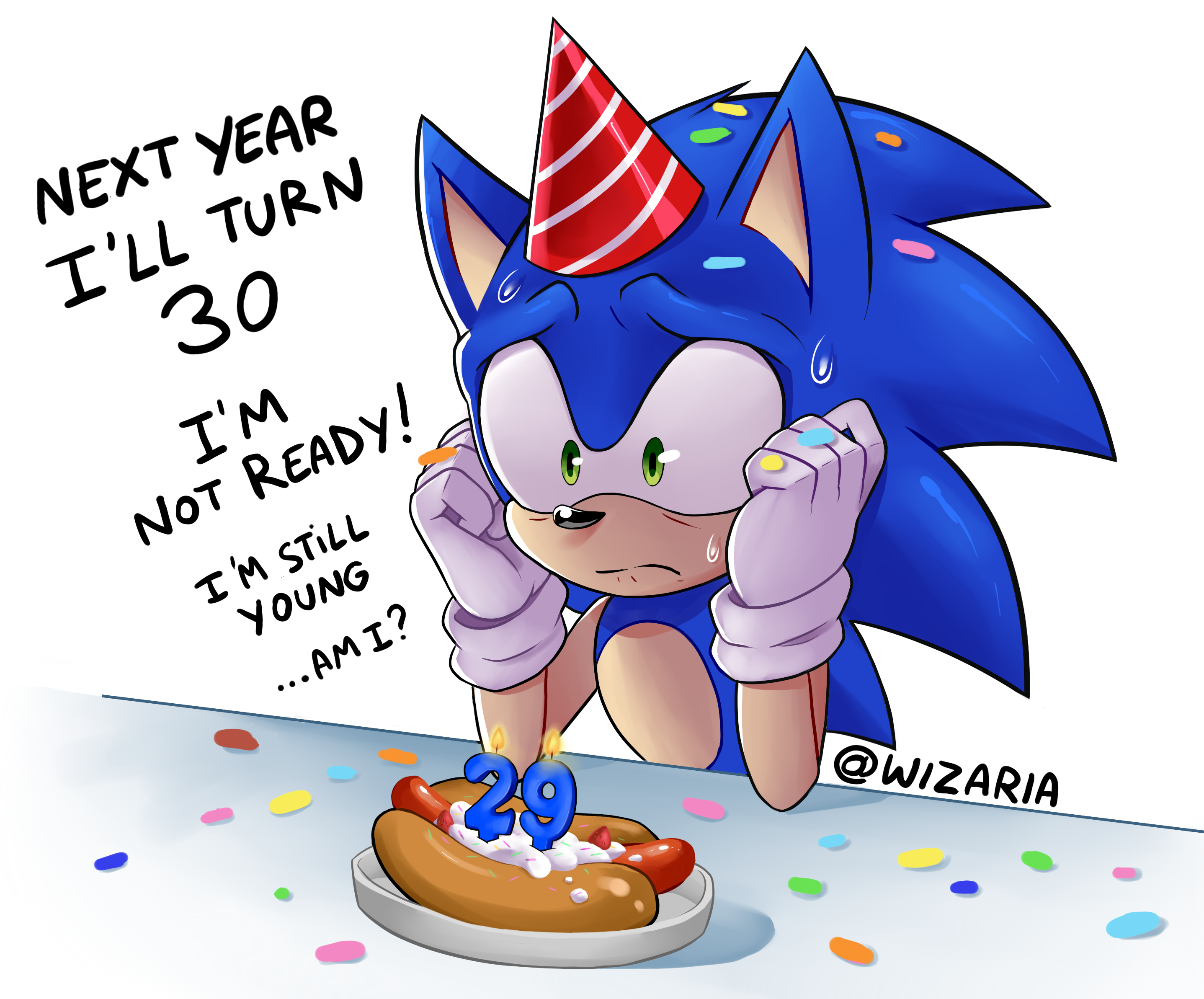 Happy 29th Birthday Spiky Boi Sonic The Hedgehog Know Your Meme
