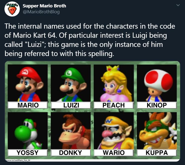 Luizi Mario Kart Know Your Meme