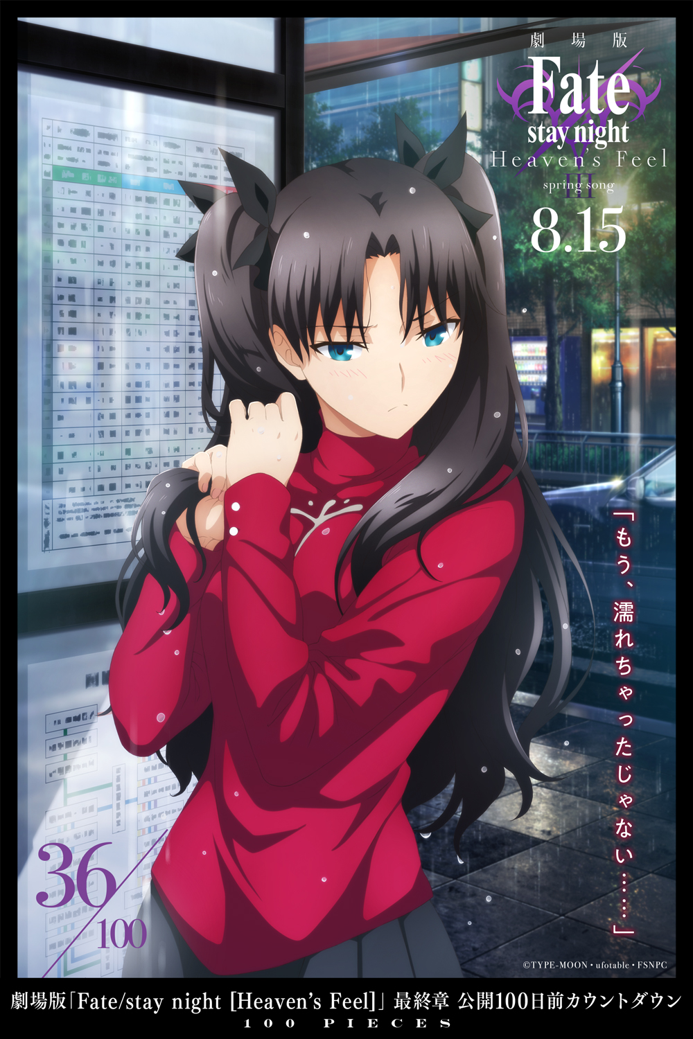 Fate Stay Night Heaven S Feel Iii Spring Song 36 100 Pieces