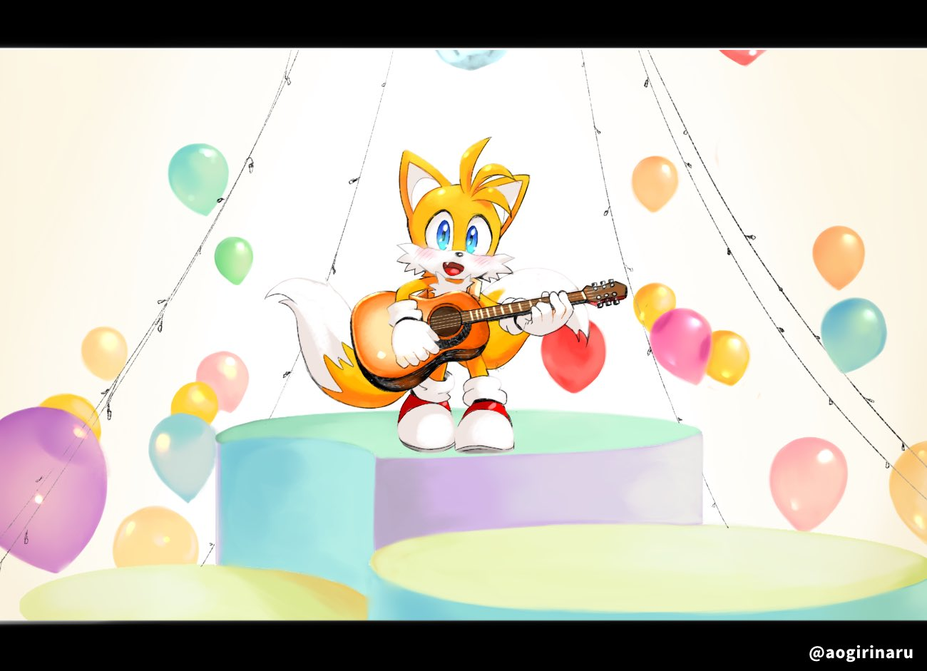 Tails Playing The Guitar Sonic The Hedgehog Know Your Meme
