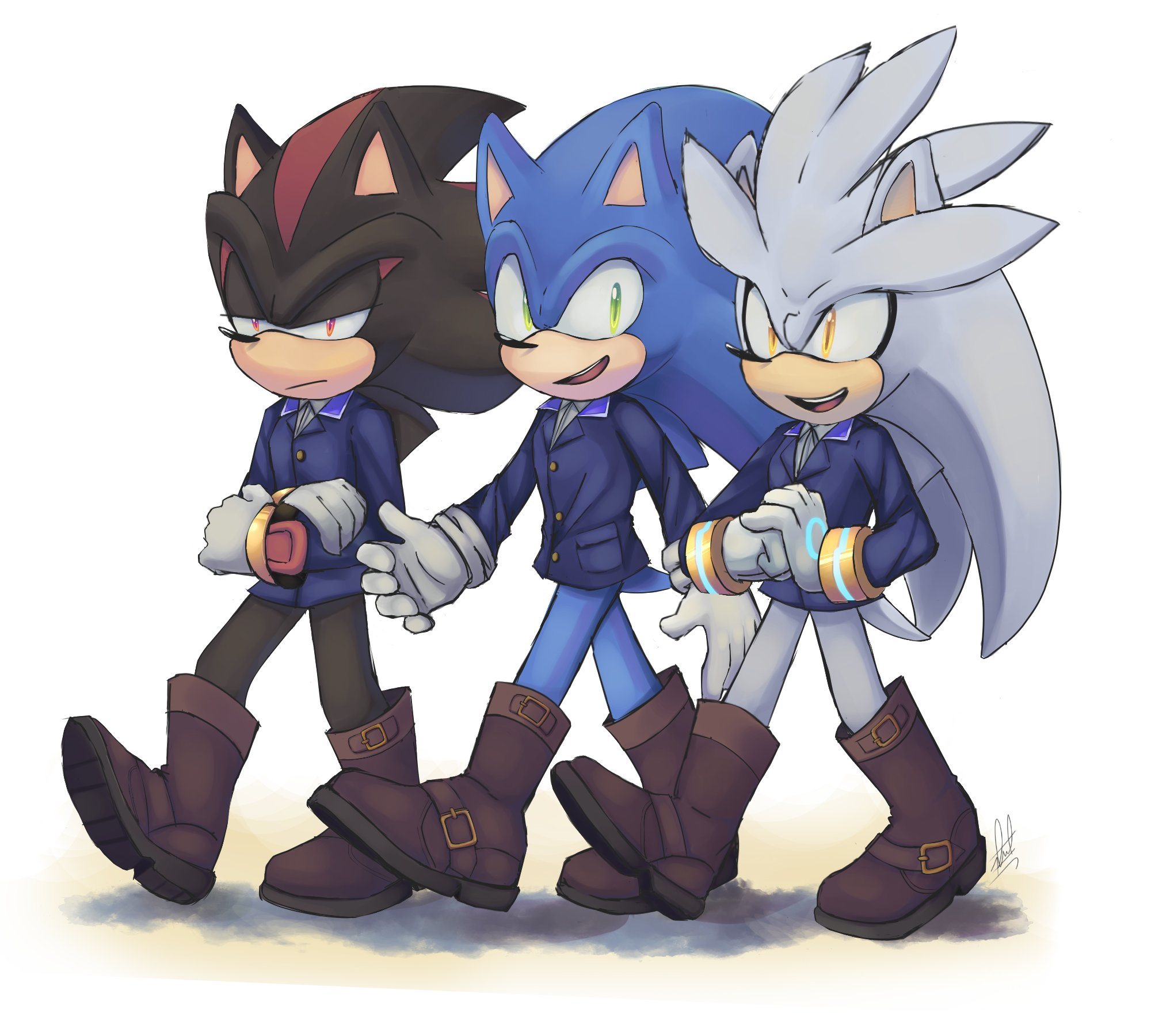 Sonic Shadow And Silver Sonic The Hedgehog Know Your Meme
