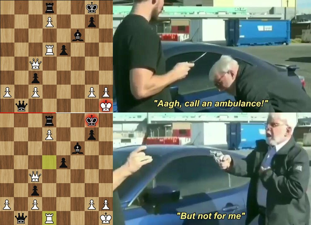 Chess Call An Ambulance But Not For Me Know Your Meme Make call an ambulance but not for me memes or upload your own images to make custom memes. chess call an ambulance but not for