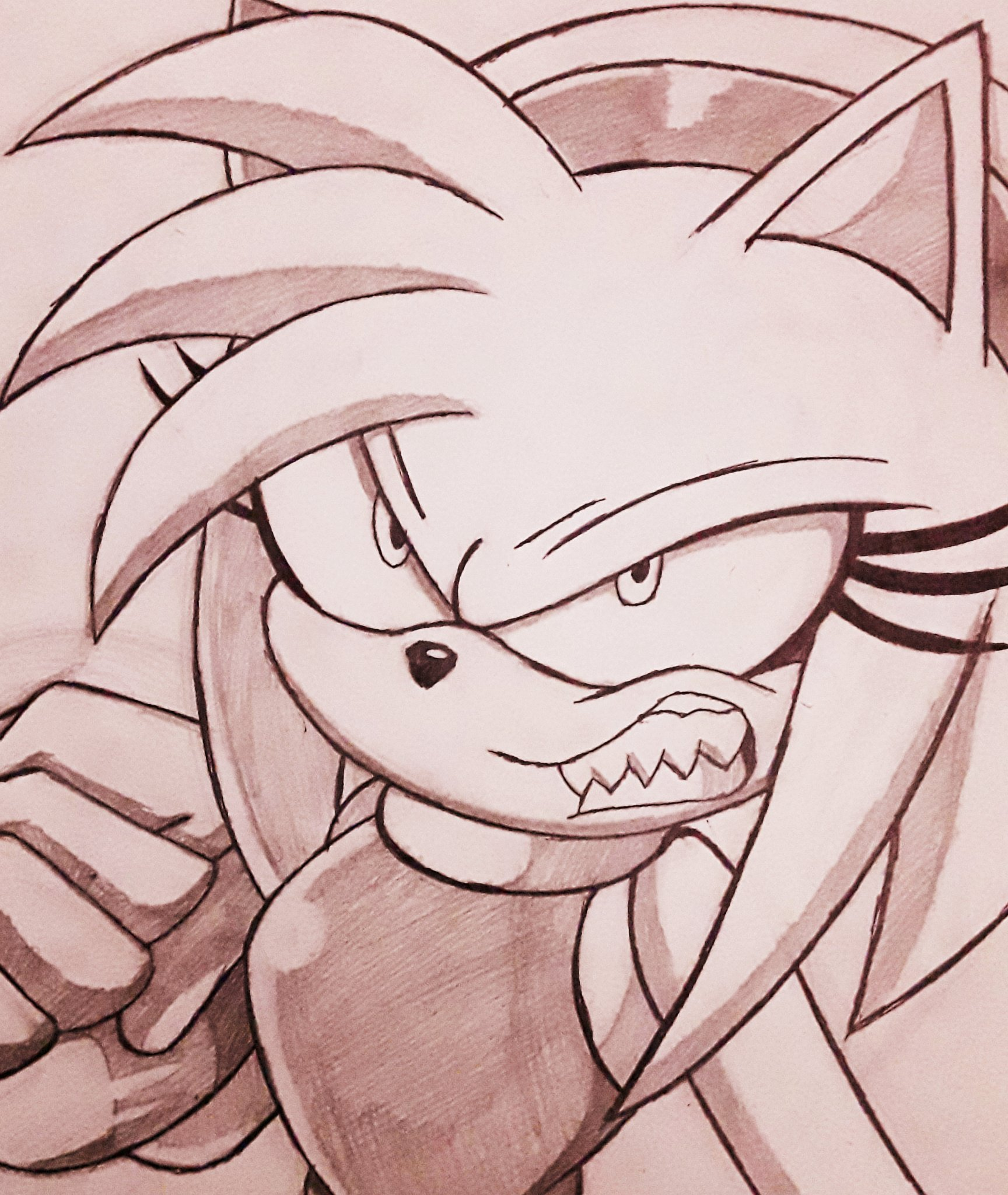 Pink Rage Sonic The Hedgehog Know Your Meme