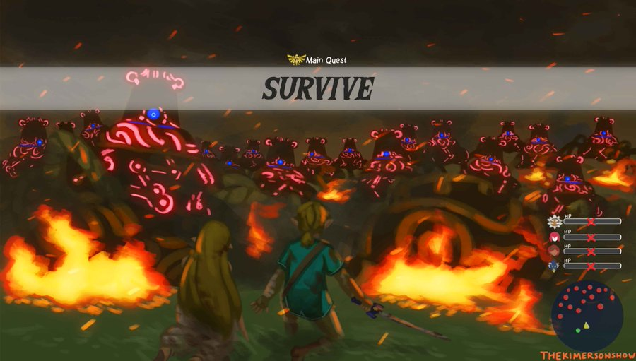 I M Not Ready For The Last Mission In Hyrule Warriors Age Of Calamity The Legend Of Zelda Breath Of The Wild Know Your Meme