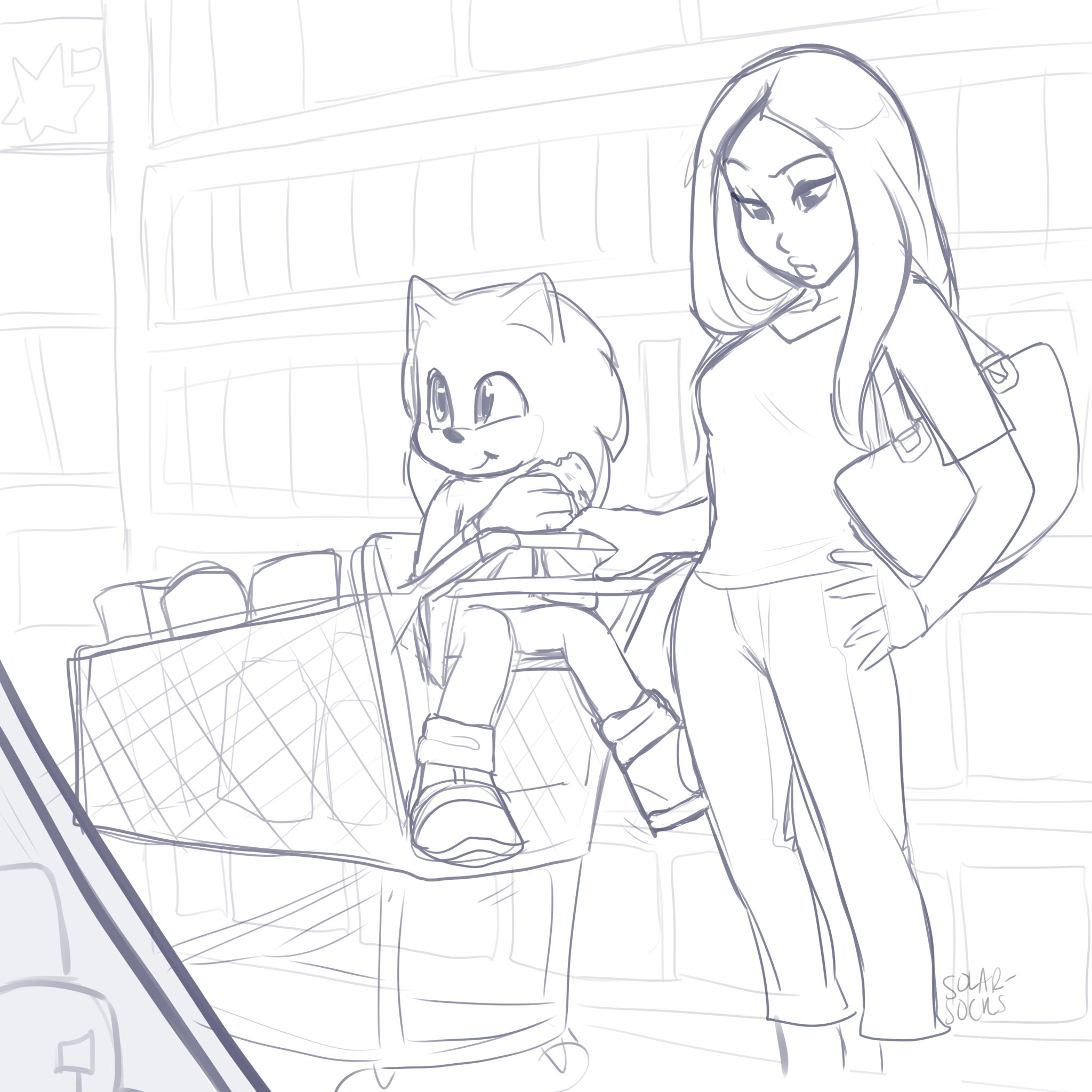 Grocery Shopping Sonic The Hedgehog Know Your Meme