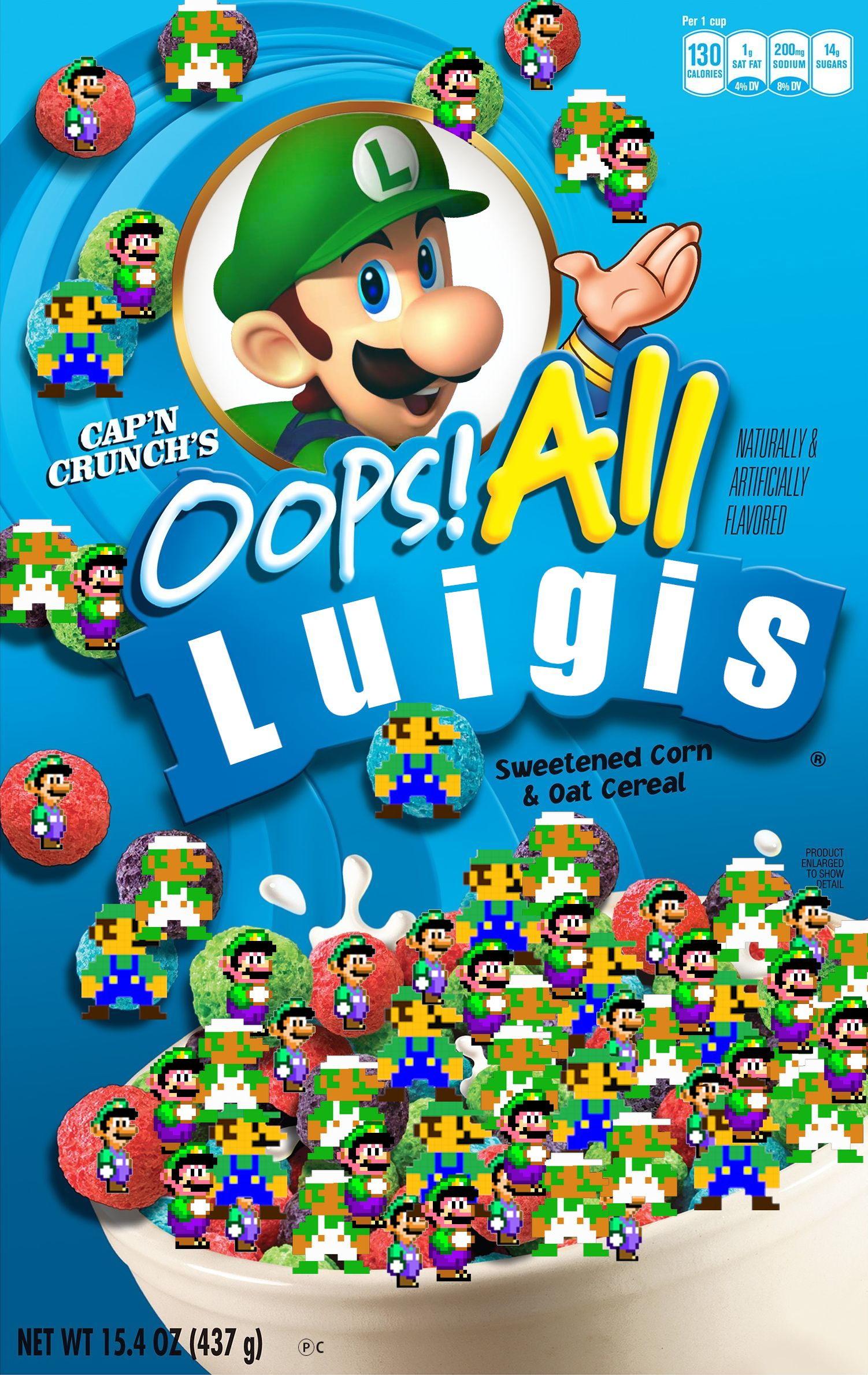 Oops All Luigis Oops All Berries Box Parodies Know Your Meme Etsy uses cookies and similar technologies to give you a better experience, enabling things like: luigis oops all berries box parodies