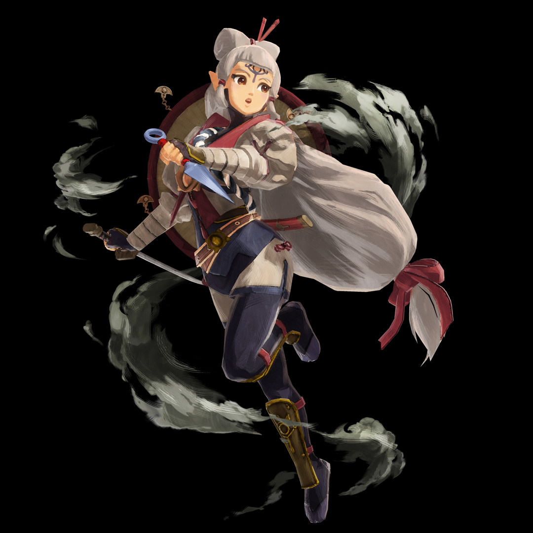 Young Impa From Hyrule Warriors Age Of Calamity The Legend Of Zelda Breath Of The Wild Know Your Meme