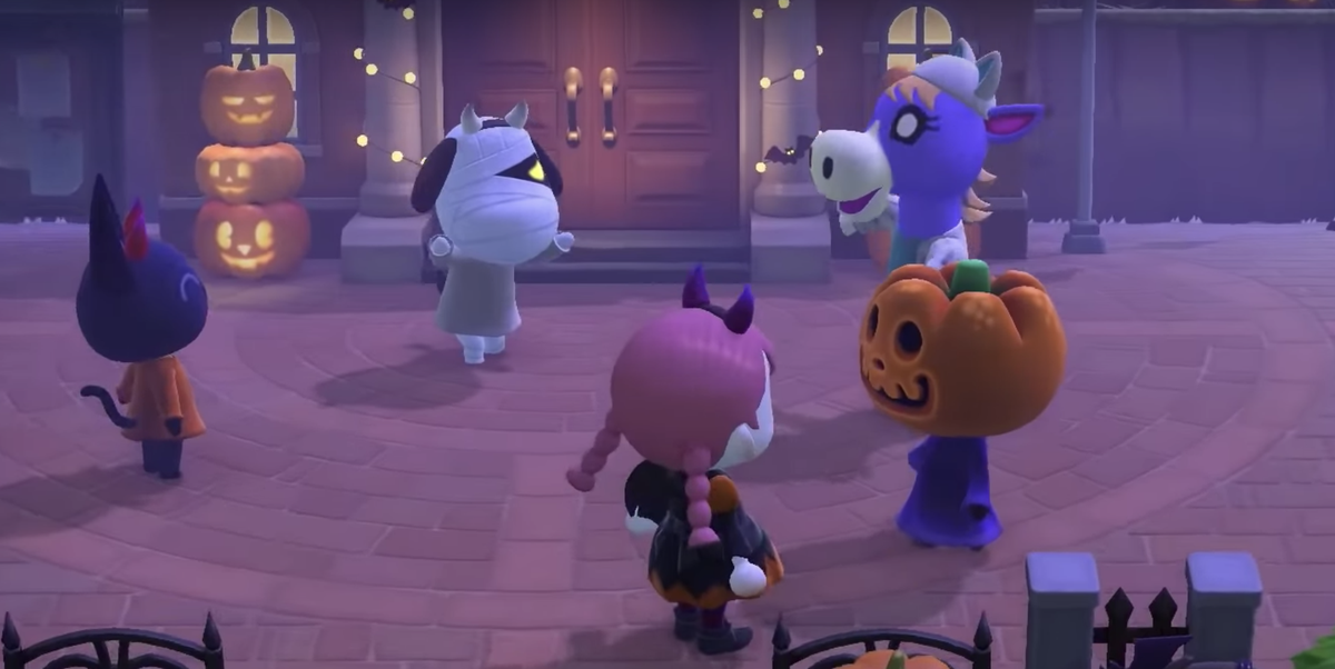 Halloween 2020 Animal Cartoon Halloween Update 09/30/2020 | Animal Crossing: New Horizons | Know
